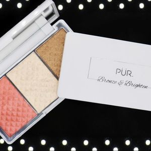 PUR bronzer and highlighter